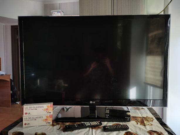 Плазменный телевизор LG + приставка!