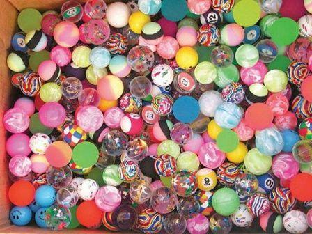 Подскачащи гумени топчета