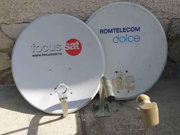 Antene satelit FOCUS şi DOLCE Romtelecom + LNB
