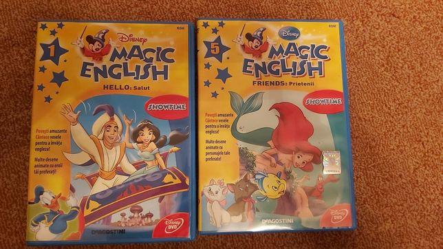 Magic English Disney DVD Numerele 1 si 5