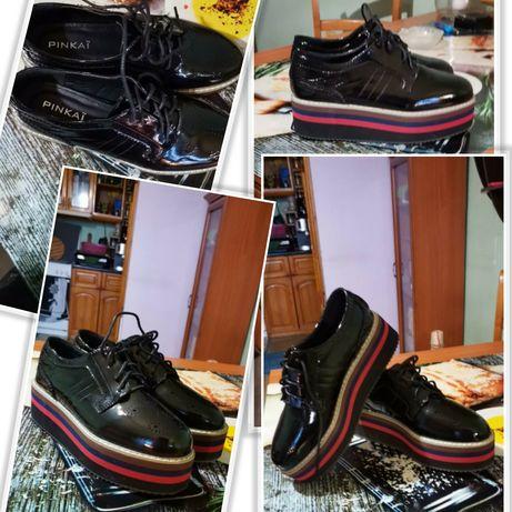 Нови дамски обувки и гумени ботуши