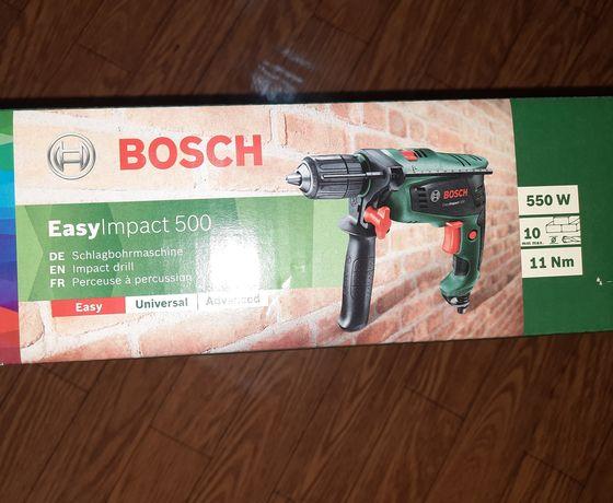 Bormasina / Masina de gaurit cu percutie BOSCH Easy Impact 500 550W