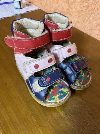 Ортопедические сандали 22р