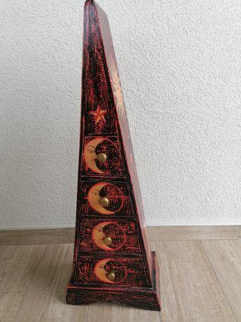 Vand decoratiune piramida soarele si luna