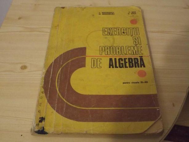 Exercitii si probleme de algebra Nastasescu