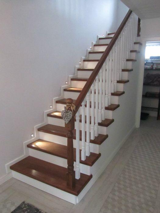 Elemente scari interioare lemn masiv (treapta,contratreapta) Arinis - imagine 1