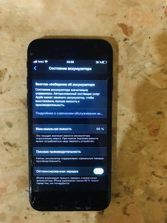 Iphone 7   32 gb   Черный цвет