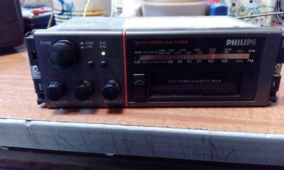 Радио-касетофон работещ