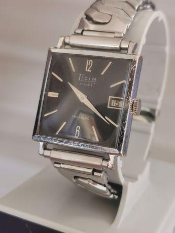 Ceas Ticin Calendar - Int. Manuala - 29*29 mm - Funcționează impecabil