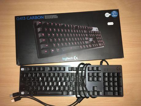 V/S(citeste descriere)Tastatura Gaming Mecanica Logitech G413 Carbon