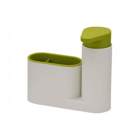Organizator pentru chiuveta 2in1 alb/verde