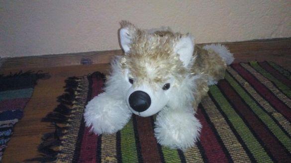 Плюшени играчки - вълче,слонче и гущер