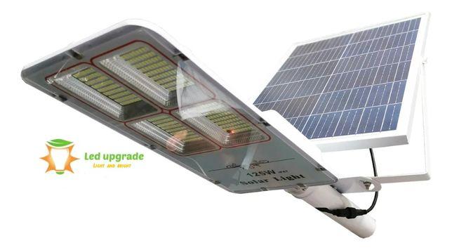 Lampa solara stradala 125W