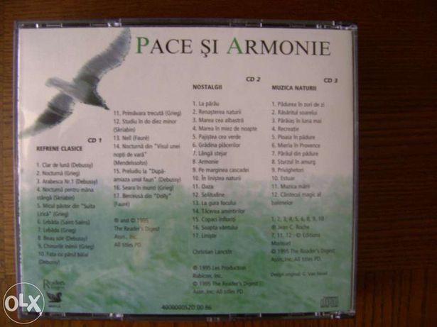 "Colectie de 3 CD-uri ""Pace si Armonie"""