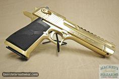 Pistol Airsoft Model UNICAT! Desert Eagle Full METAL GOLD 4,1j