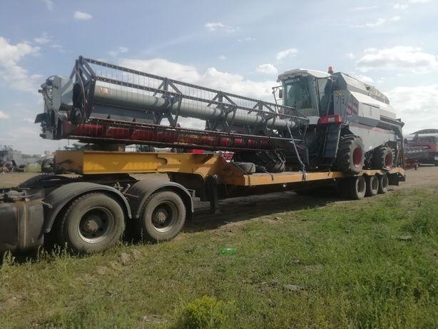 Перевозка негабаритных грузов Трал