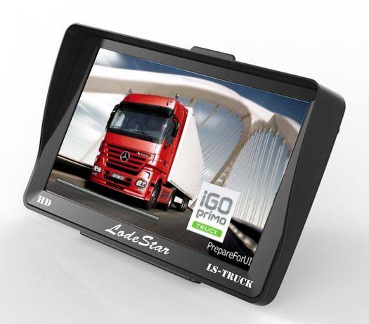 "GPS 7""HD harti setari:Gabarit/Tonaj/Poligoane pentru Camion/Turism/BUS"