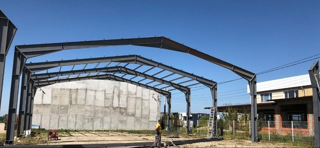 hale : metalice industriale , depozite mărfuri, ga