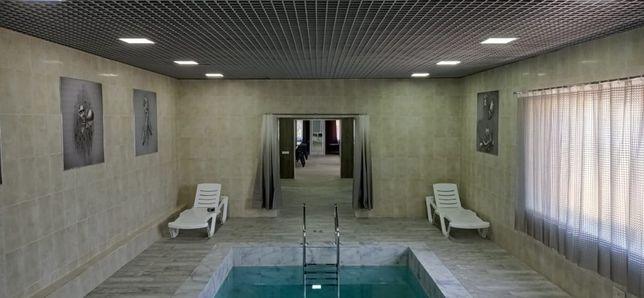 Новая сауна На Волне с бассейном