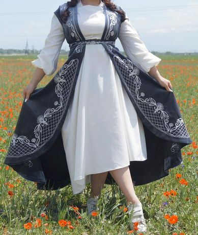 42-54 Камзол, кажекей, национальное платье, казакша койлек