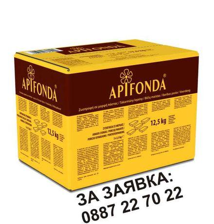 ПРОМОЦИЯ Храна за Пчели Апифонда Апи Фонда Apifonda - Германия 5х2,5кг