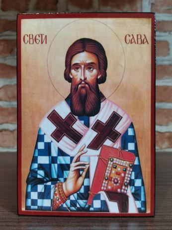 Икона на Свети Сава Сръбски ikona sveti sava srabski