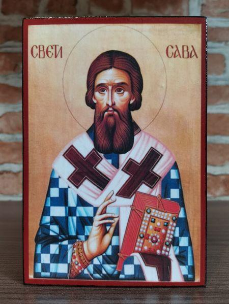 Икона на Свети Сава Сръбски ikona sveti sava srabski гр. Пловдив - image 1