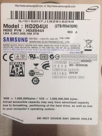 Hard 2tb Samsung HD204UI