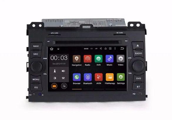 Toyota Land Cruiser 120 Prado - Навигация Андроид 10 Мултимедия