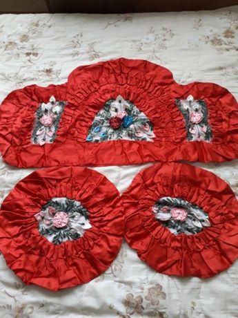 Декоративни възглавнички копринен сатен