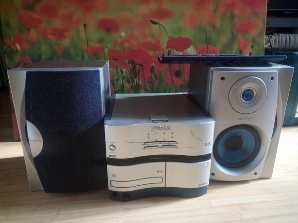 Combina, sistem audio Kenwood, model RXD-NV500