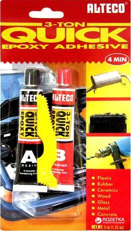 Эпоксидный клей Alteco 3 Ton Quick 4 минуты