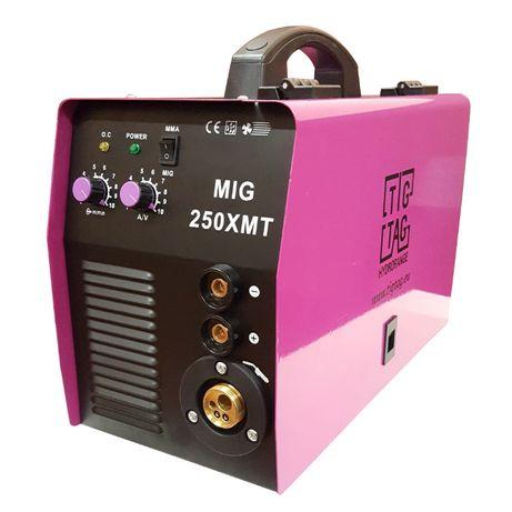 Телоподаващо електрожен комбиниран MIG250XМТ с безплатна доста