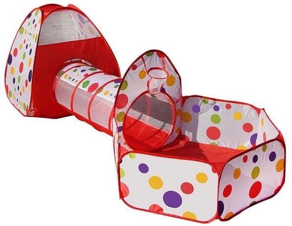 Продам большую новую детскую палатку домик со сухим бассейном