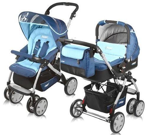 Комбинирана бебешка количка BABY DESIGN SPRINT PLUS 2в1