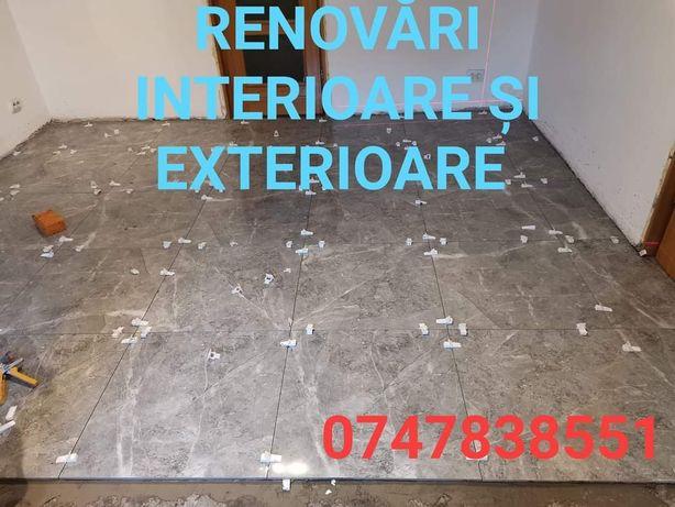 Renovări interioare și exterioare