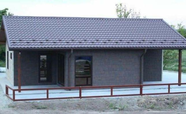 Vănd casa pe structura metalica și panouri sandvici