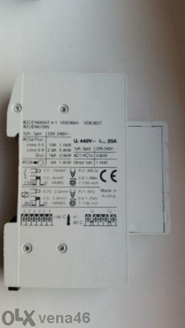 Модулен контактор 20a, 2no; Нс 20-20 24 V - 30броя