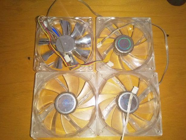 Ventilatoare Cooler Master cu led si Normale