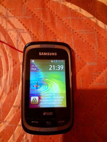 Продавам мобилен телефон Samsung C3262 Champ Neo ,Dual Sim,черен