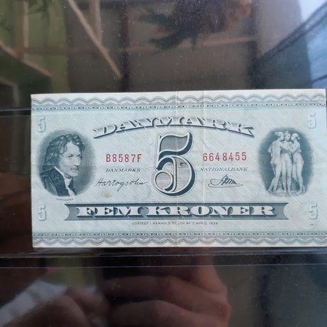 Bancnota Danemarca (Kroner)