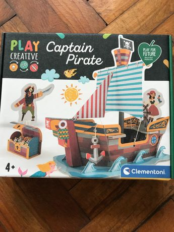 Креаривна детска игра/ capitan pirate Clementoni