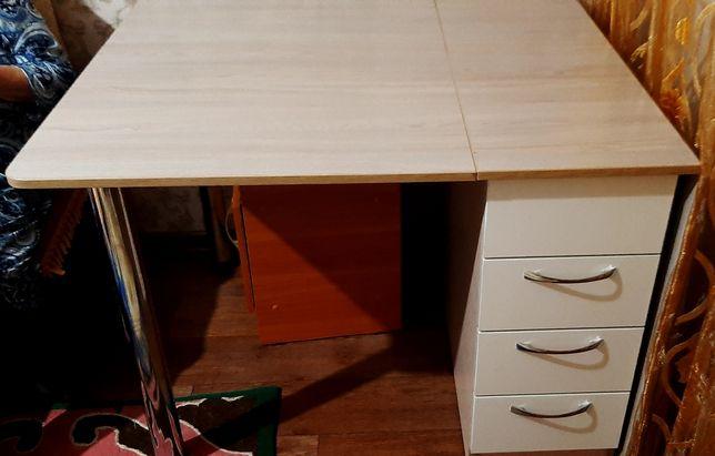 Продам стол - книжка с ящиками!