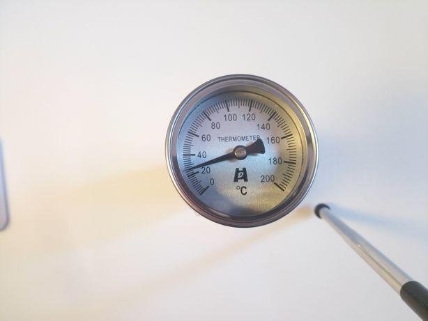 Термометр биметаллический 0+200°С