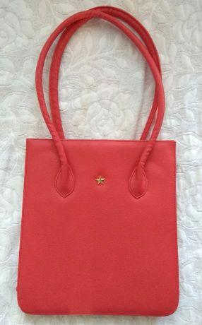 Чисто нова дамска кожена чанта , внос от Англия
