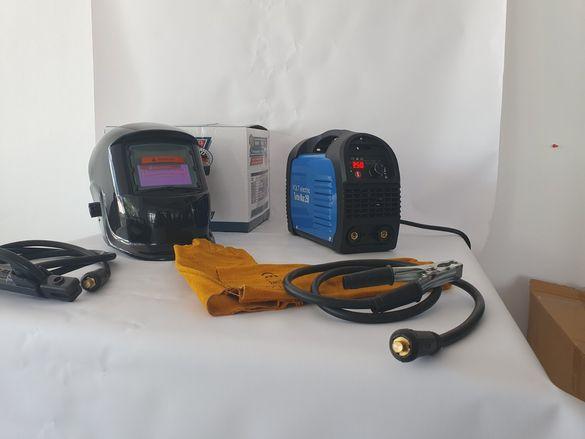 Volt Electric Електрожен 250А Серия Turbo Max  + Соларна маска