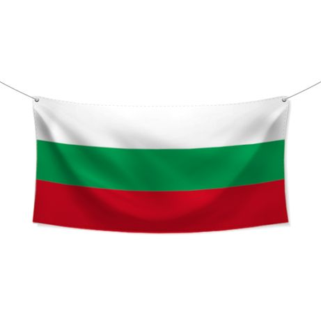 БЪЛГАРСКО ЗНАМЕ 120/70см, различни размери, българско производство