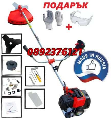 РУСКИ Тример за трева Алмаз бензинов храсторез 43 - 52 куб. косачка