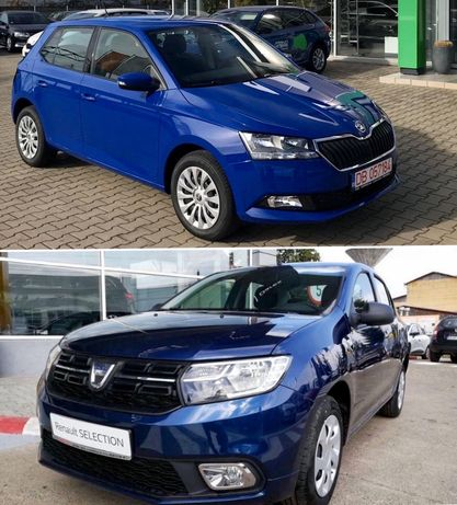 Închirieri auto / Inchiriere Skoda Fabia, Dacia Logan 2019 Full Casco!