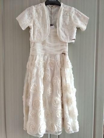 Sale 80%. Новое нарядное платье на 8-10 Guess Италия. Болеро в подарок